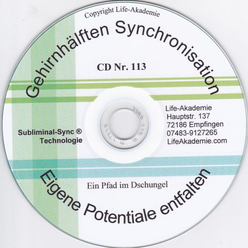 Gehirnhälften-Synchronisation MP3 Potentiale