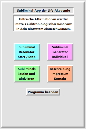Subliminal-Basis-App für Windows